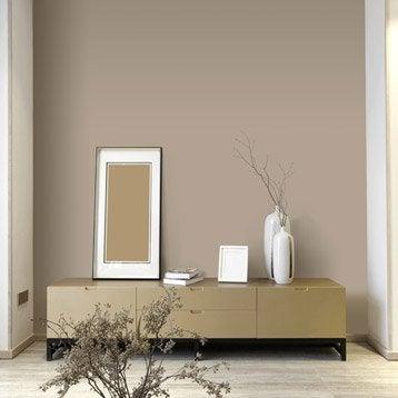 Papier peint intissé Paillette gris doré n°5