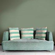 Papier peint intissé Beton métal vert
