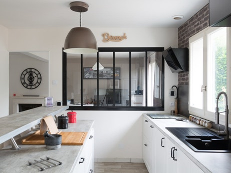 vos plus belles r alisations de verri res d 39 atelier leroy merlin. Black Bedroom Furniture Sets. Home Design Ideas