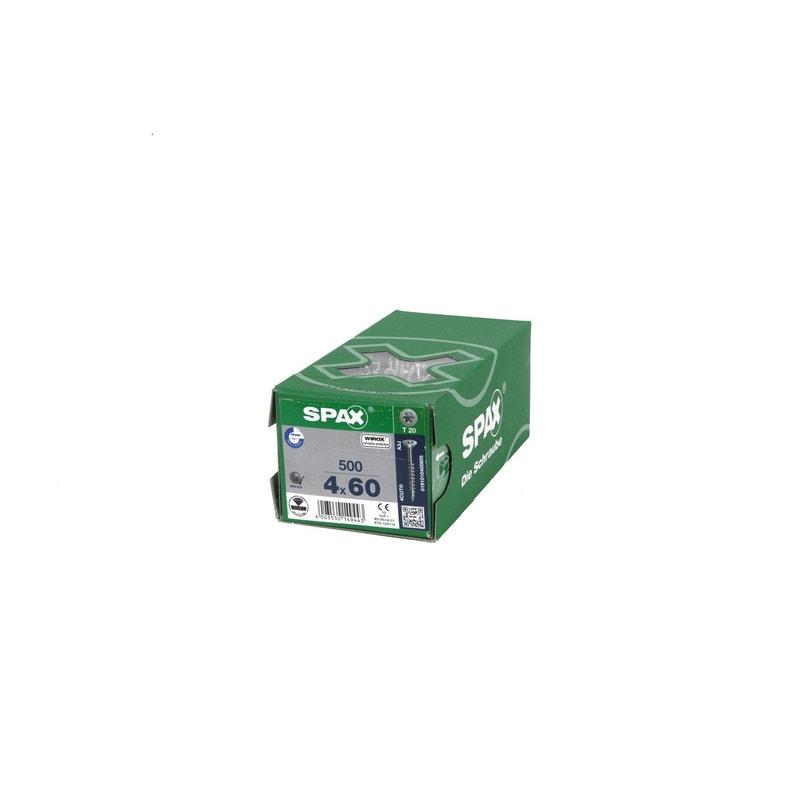 Boîte De 500 Vis 4x60mm Gris Tf Wirox Tx
