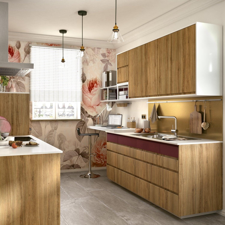 Cuisine bois : authentique ou moderne | Leroy Merlin