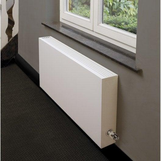 Radiateur chauffage central basse temp rature type 15 blanc cm 1700 w - Radiateurs plats pour chauffage central ...