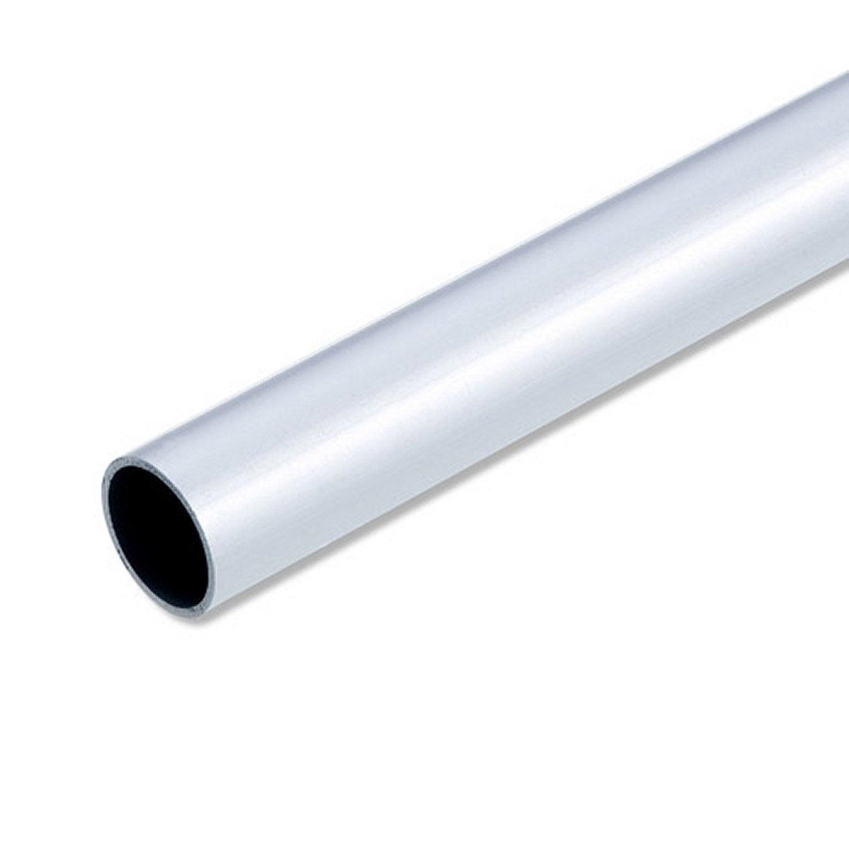 Tube Rond Aluminium Anodisé, L.1 M X Diam.25 Mm