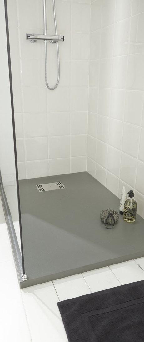 Le receveur de douche confort absolu