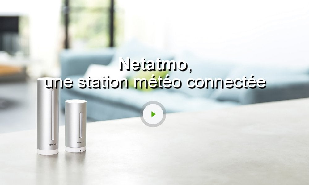 capteur connect int rieur pour station m t o netatmo leroy merlin. Black Bedroom Furniture Sets. Home Design Ideas
