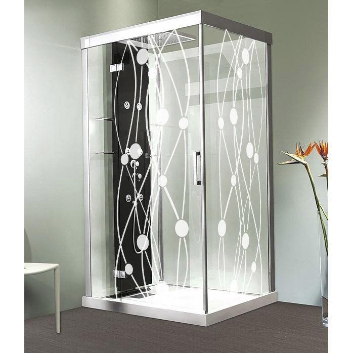 sticker ondulation 80x180 cm leroy merlin. Black Bedroom Furniture Sets. Home Design Ideas