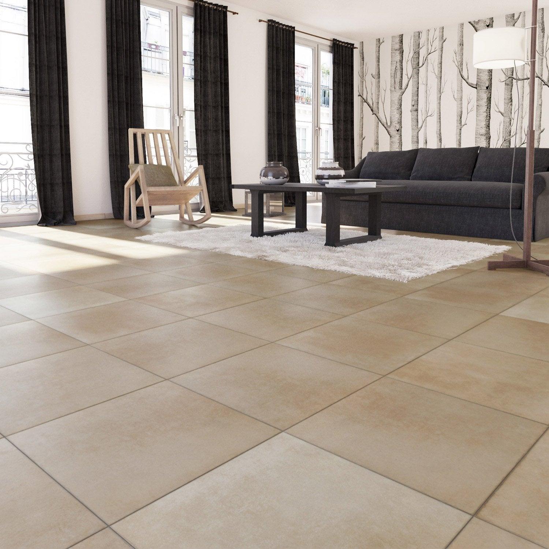carrelage sol et mur rose effet terre cuite salernes x cm leroy merlin. Black Bedroom Furniture Sets. Home Design Ideas
