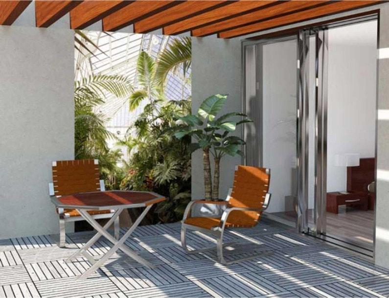 Toile brise-vue pvc SCENOLIA Fond jardin 100%, H.2.4 m x L.1.5 m ...
