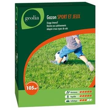 Gazon sport et jeux GEOLIA 105 m²