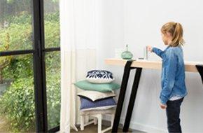 diagnostic de qualit de l 39 air connect netatmo nws01 eu leroy merlin. Black Bedroom Furniture Sets. Home Design Ideas