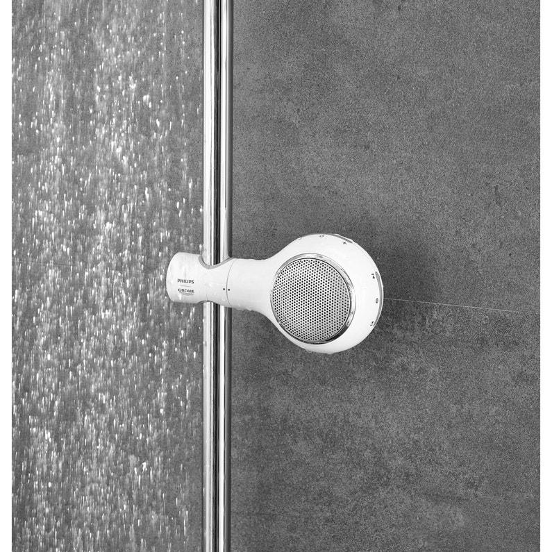 Enceinte de douche connectée bluetooth, blanc, GROHE Aquatunes