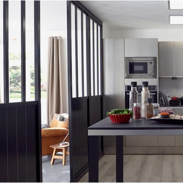Une cloison amovible de style loft pour la chambre | Leroy Merlin