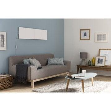 Extension panneau LED décoratif Puzzle, 1 x 9 W, papier blanc, INSPIRE