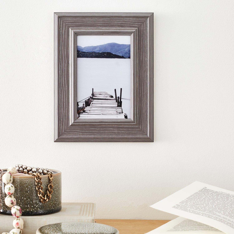 donnez vie à son mur avec un cadre photo à accrocher gris   leroy merlin
