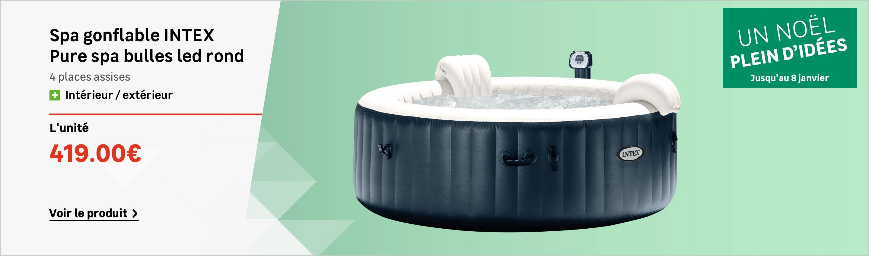Entretien Spa Gonflable Intex Cool Couvercle Gonflable Pour Spa