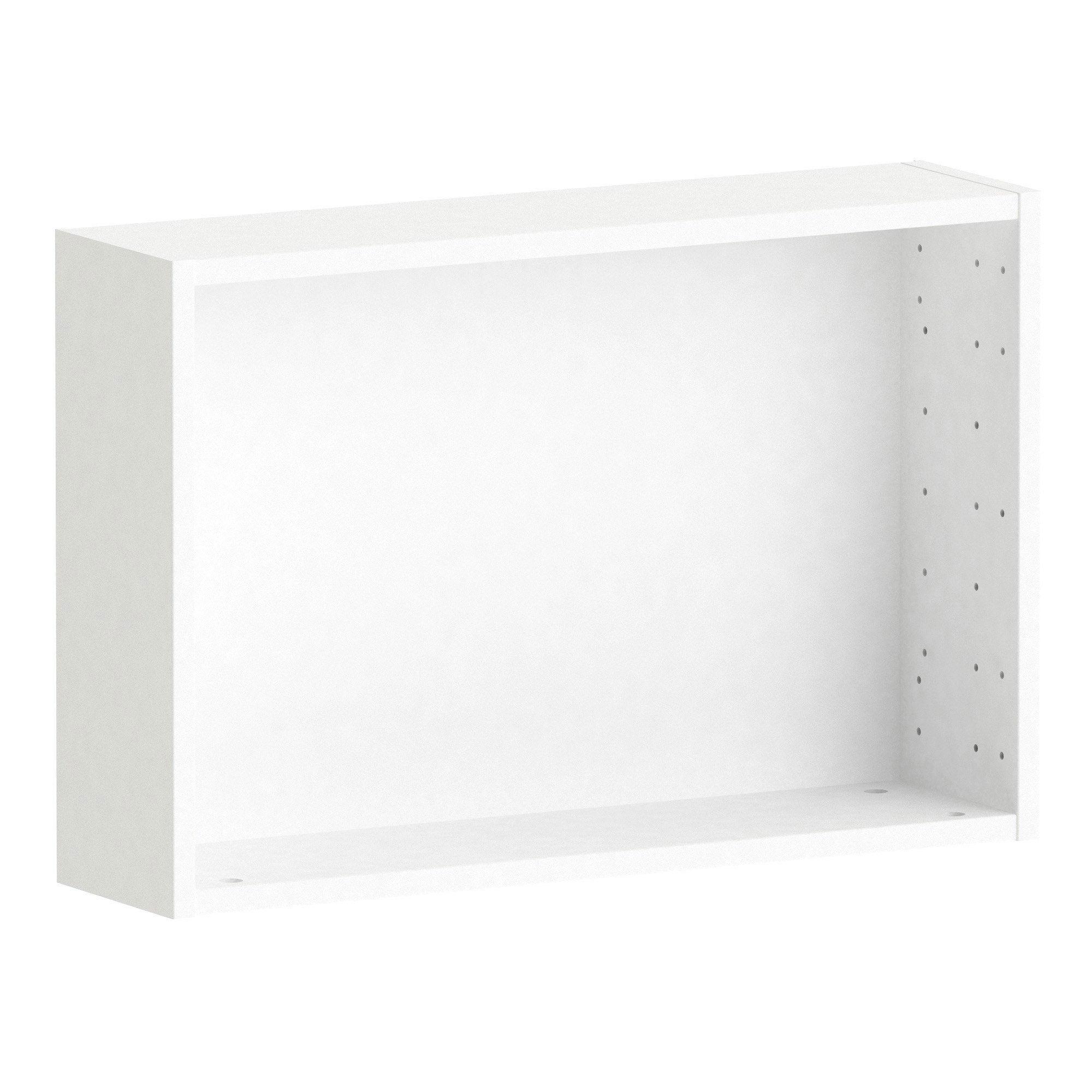 Caisson SPACEO Home, blanc H.40 x l.60 x P.15 cm