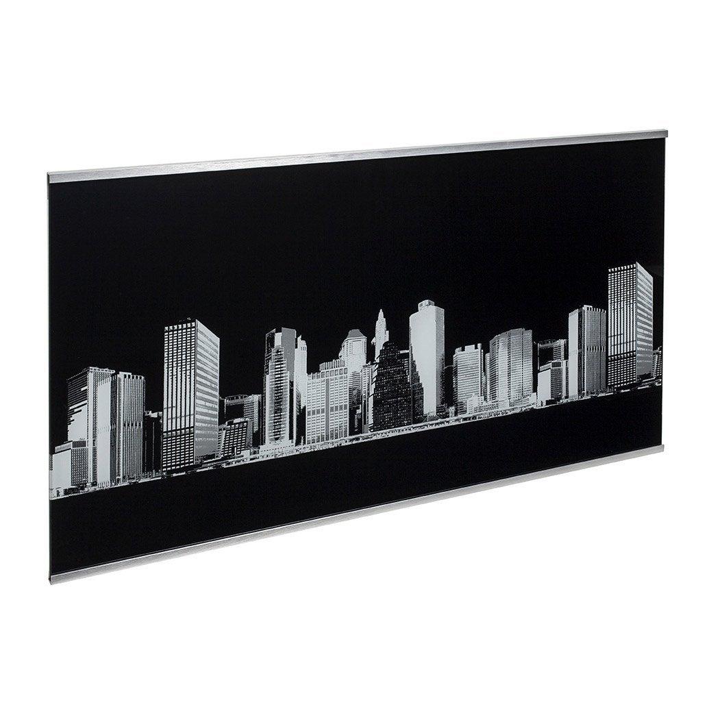Crédence verre Décor new york H.45 cm x Ep.5 mm x L.80 cm