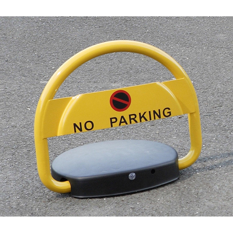 barri re de parking automatique mottez jaune leroy merlin. Black Bedroom Furniture Sets. Home Design Ideas