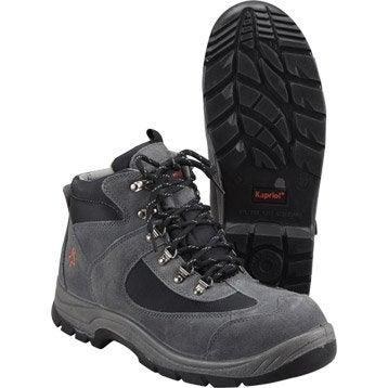Chaussures de sécurité hautes KAPRIOL Nebraska, coloris gris T41