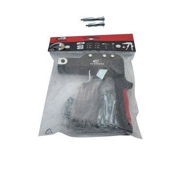 kit pince + chevilles métal à expansion STANDERS
