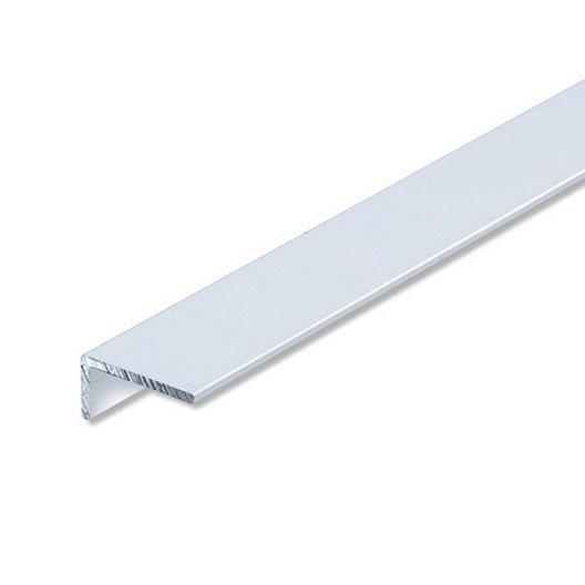 corni re in gale aluminium anodis l 2 m x l 2 cm x h 1 cm leroy merlin. Black Bedroom Furniture Sets. Home Design Ideas