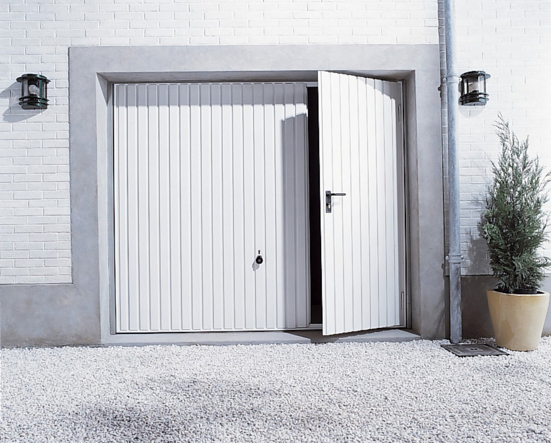 Porte Garage Basculante Avec Portillon
