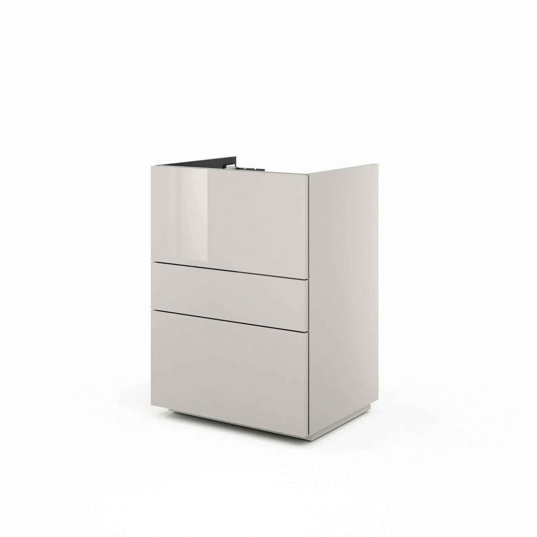 meuble sous vasque x x cm neo line leroy. Black Bedroom Furniture Sets. Home Design Ideas