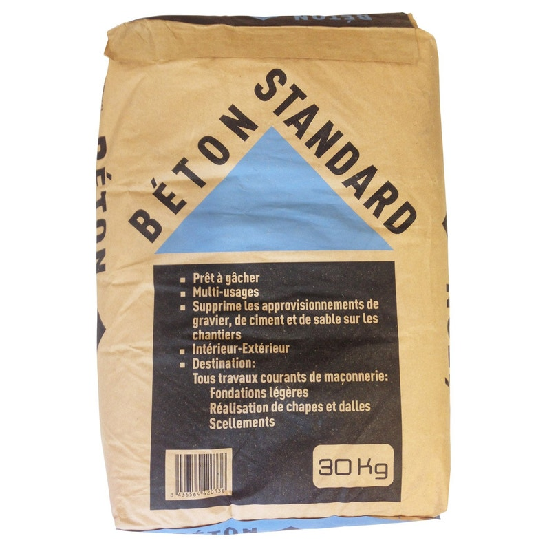 vêtements de sport de performance bas prix date de sortie: Béton standard, 30 kg