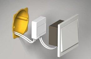 micro r cepteur pour clairage et t l commande dio leroy merlin. Black Bedroom Furniture Sets. Home Design Ideas