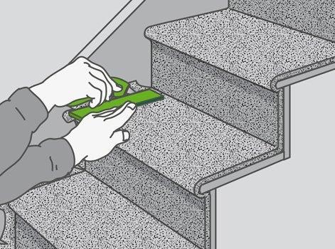 comment poser un rev tement sur un escalier leroy merlin. Black Bedroom Furniture Sets. Home Design Ideas