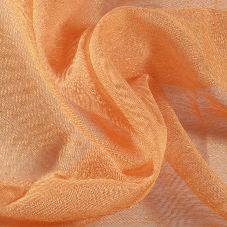vente la moins chère choisir l'original grande variété de styles Voilage transparent, Dolly, orange, l.140 x H.240 cm