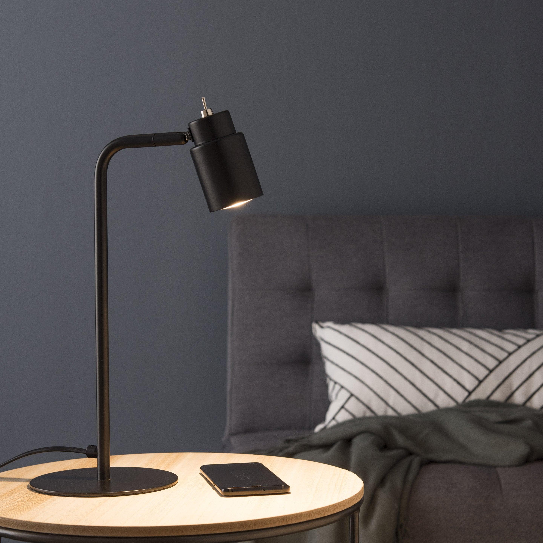 Lampe, design, métal noir, INSPIRE Ioana