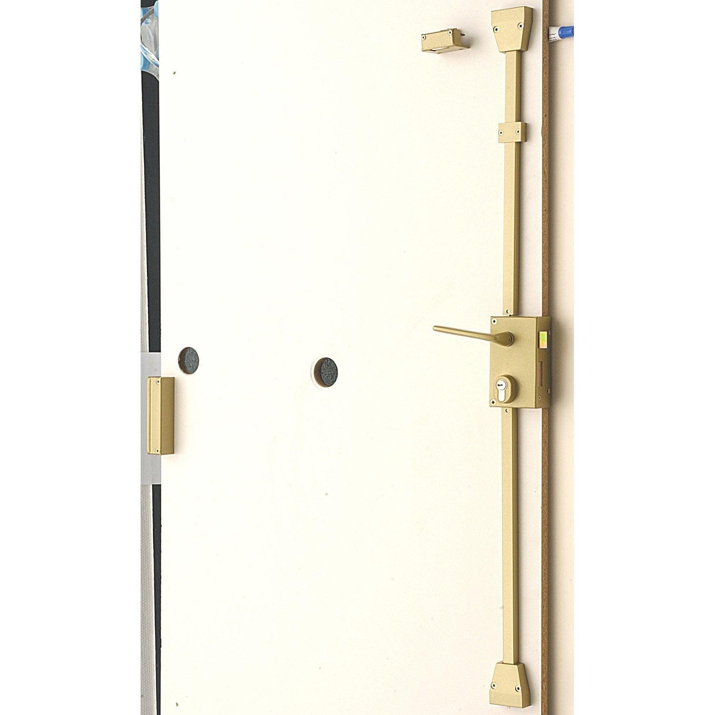 Serrure En Applique Multipoint BRICARD Poignée à Droite Axe Mm - Porte placard coulissante jumelé avec bricard