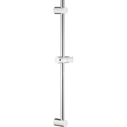 barre de douche chrome grohe vitalio start leroy merlin. Black Bedroom Furniture Sets. Home Design Ideas