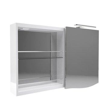armoire de toilette armoire salle de bains leroy merlin. Black Bedroom Furniture Sets. Home Design Ideas