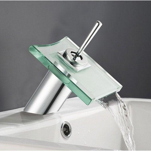 robinet de lavabo et vasque - robinet de salle de bains | leroy merlin - Robinet Mural Salle De Bain