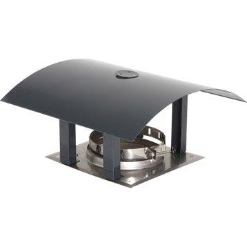 Chapeau pare-pluie simple ATELIER DIX NEUF 126 mm