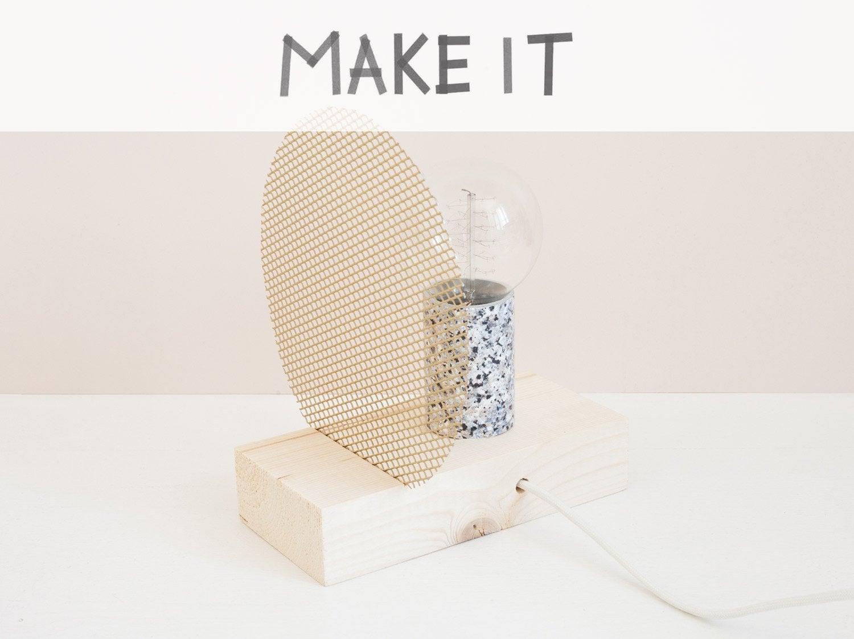 DIY : Créer une lampe de chevet ou une lampe à poser
