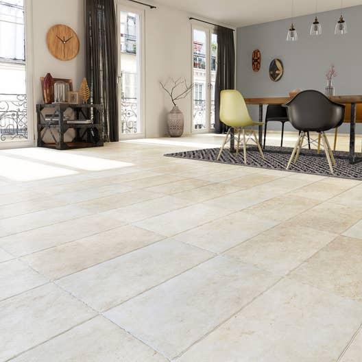 carrelage sol et mur beige effet pierre monast re x cm leroy merlin. Black Bedroom Furniture Sets. Home Design Ideas