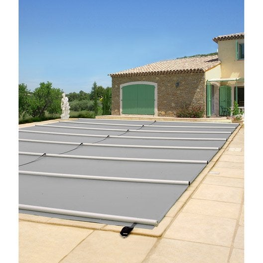B che piscine s curit piscine leroy merlin for Bache piscine securite