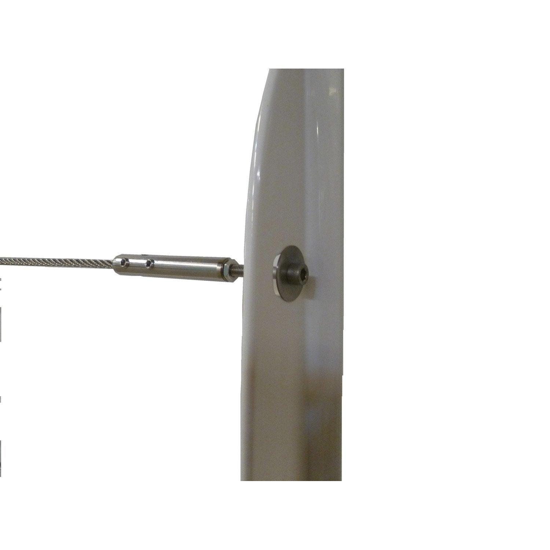 5 d part de c ble et tendeurs tieral pour garde corps en m tal gris h 8 x leroy merlin. Black Bedroom Furniture Sets. Home Design Ideas