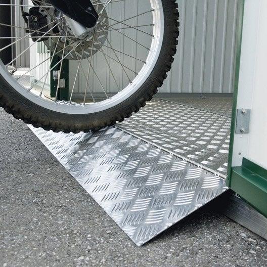 Seuil de porte en m tal biohort europa avgarde highline l - Garage exterieur metal ...