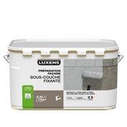 Sous-couche façade LUXENS, blanc grisé, 2.5 l
