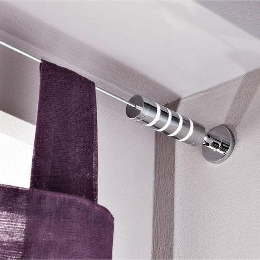 kit complet c ble pour mur et plafond platinium chrom l 5 m leroy merlin. Black Bedroom Furniture Sets. Home Design Ideas