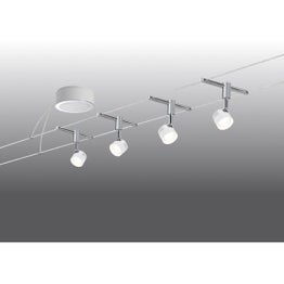 Kit câble Stage LED 4 x 5 W PAULMANN
