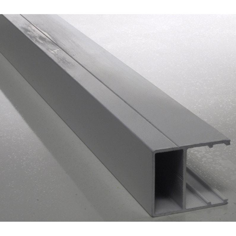 Profil Bordure Pour Plaque Ep 32 Mm Blanc Laqué L4 M