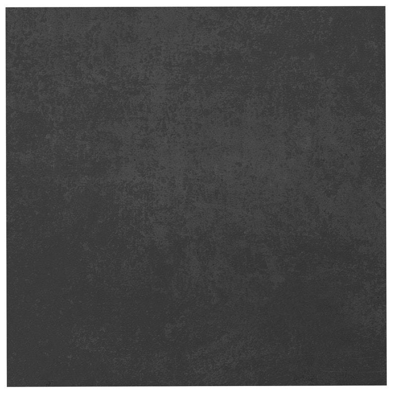 Carrelage Sol Et Mur Forte Effet Béton Noir Emotion L45 X L45 Cm