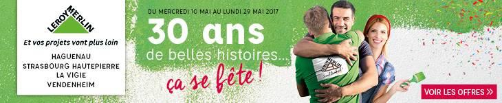 30 ans Alsace