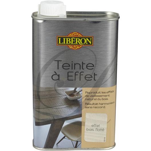 Teinte à effet LIBERON, 0.5 l, effet bois flotté | Leroy Merlin