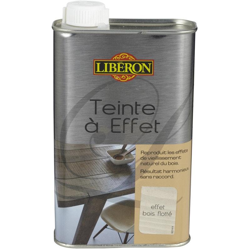 Teinte A Effet Liberon 0 5 L Effet Bois Flotte Leroy Merlin